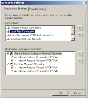Network Advanced Settings