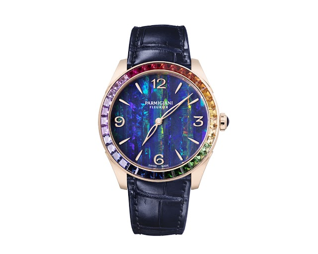 Tonda rose gold rainbow - an ultra feminine watch