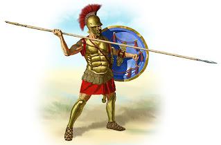 storia e formazioni dell'antico esercito greco