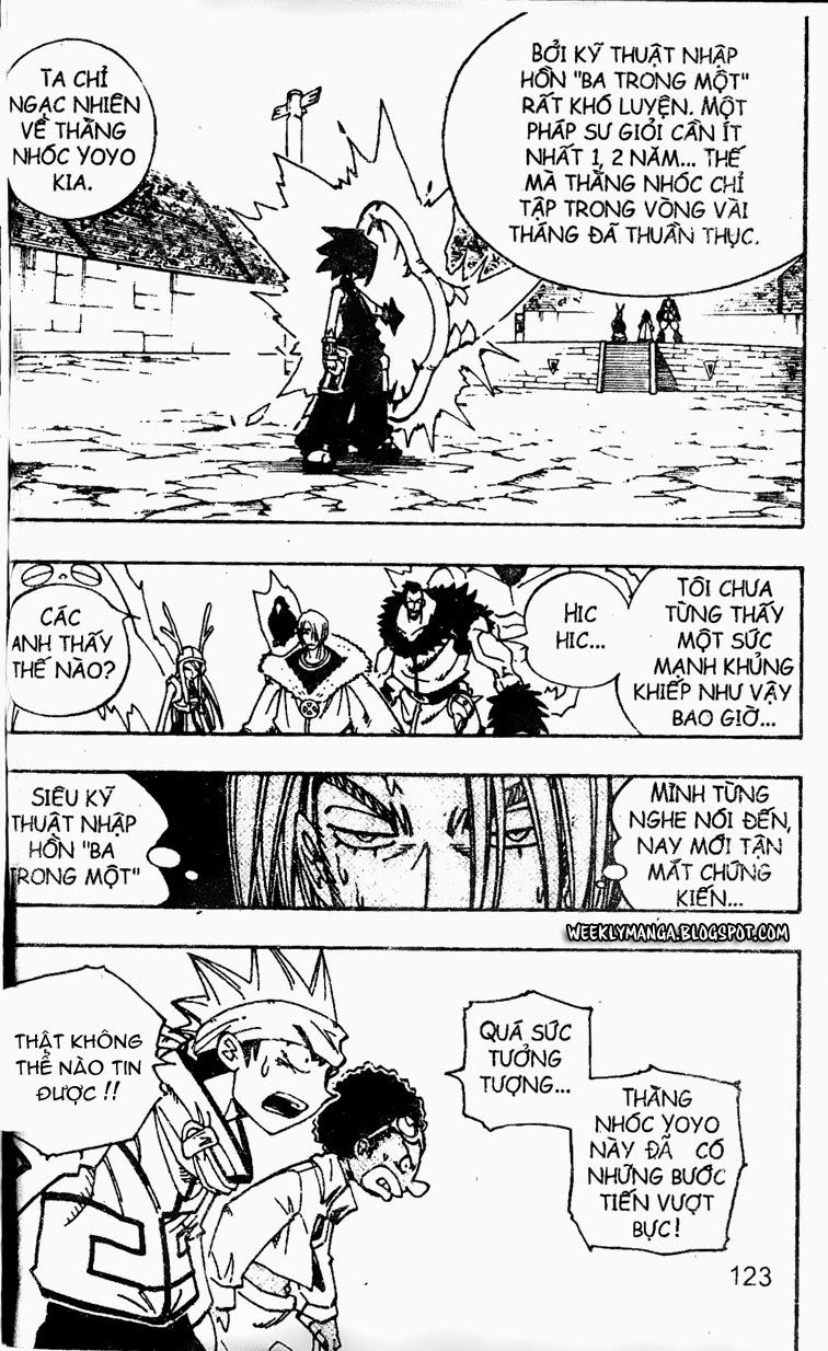 Shaman King [Vua pháp thuật] chap 129 trang 7