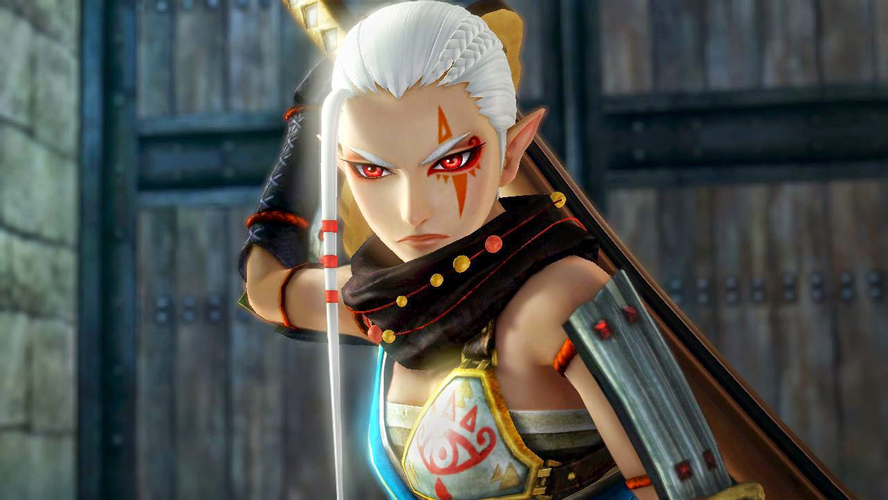 Impa Giant Sword Zelda's Advisor
