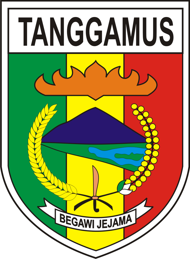 Logo Kabupaten Tanggamus Logo Lambang Indonesia