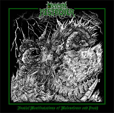 Oxygen Destroyer just loves Godzilla, as per their 2018 album, 'Bestial Manifestations of Malevolence and Death.'