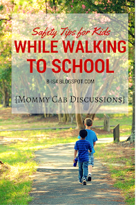 Safety Tips for Walking to and from School