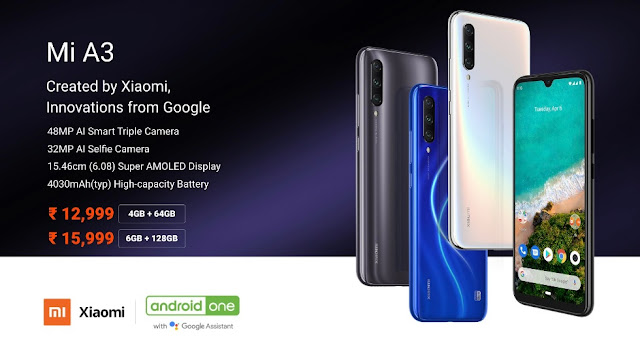 Xiaomi Mi A3 - Full phone specifications - www.mdigitalera.com
