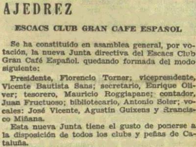 Recorte de El Diluvio, 3/2/1934