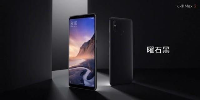 Presentado el nuevo Xiaomi Mi Max 3