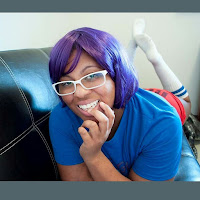 purple wig | Nerdy Curve Blog
