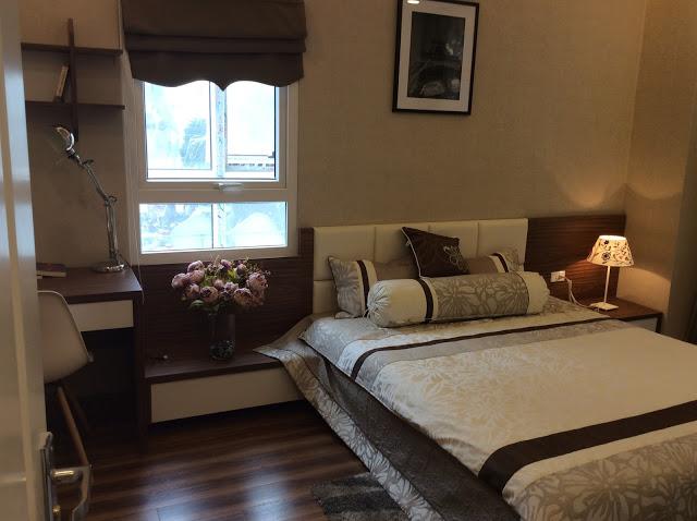 Phòng ngủ tại FLC Garden City