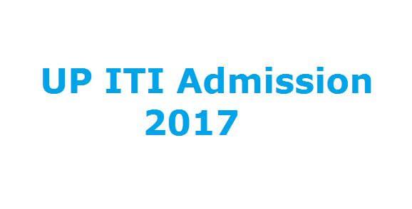 UP ITI admission 2017