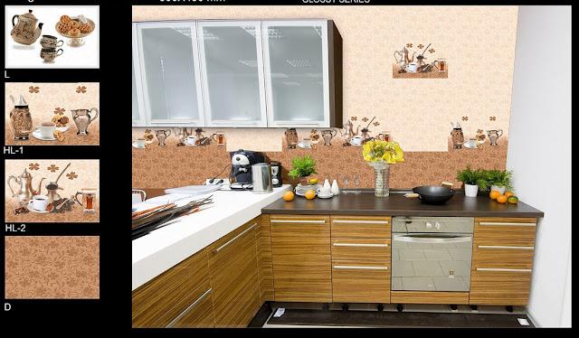 Stick on Kitchen Tiles