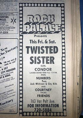 The Rock Palace band lineup