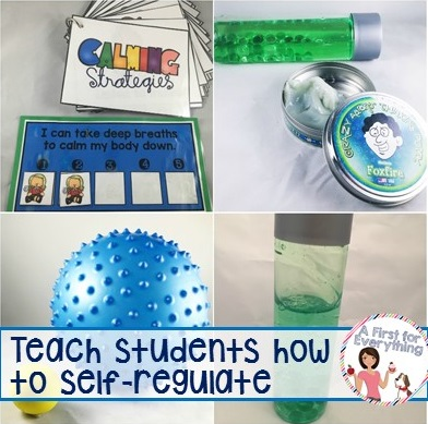 Strategies to help students self regulate in the classroom.