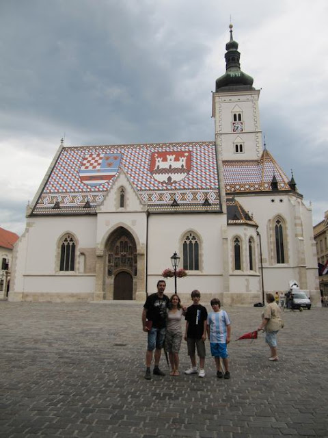 iglesias de Zagreb, iglesia de san Marcos