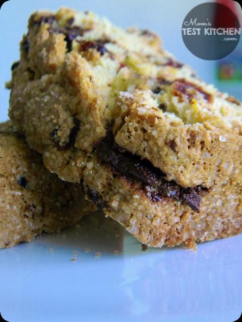 Mom's Test Kitchen: Cranberry Chocolate Chunk Bread