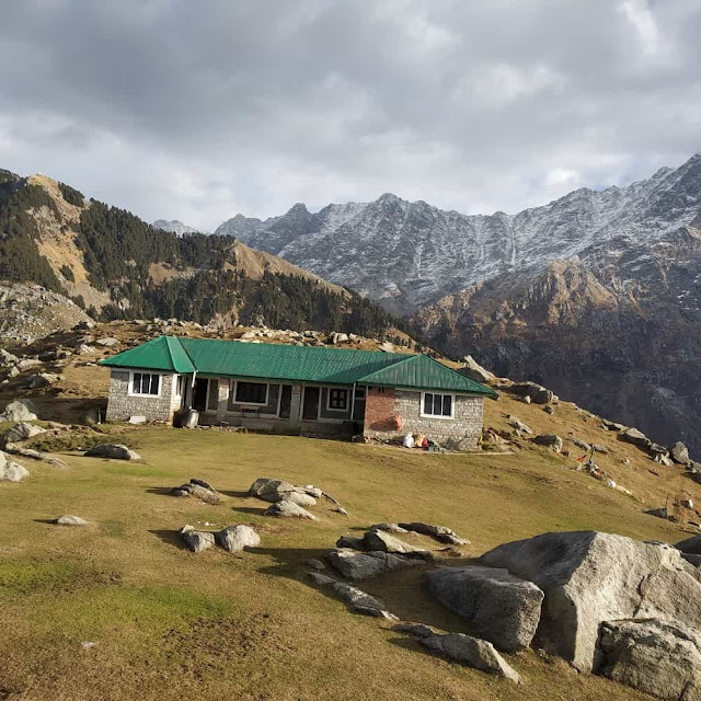 Forest rest house Triund