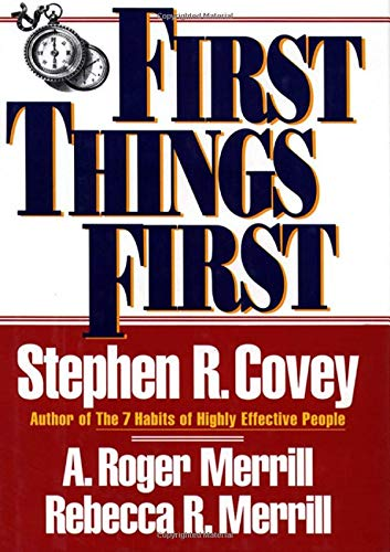 First Things First by Stephen Covey FREE Ebook Download