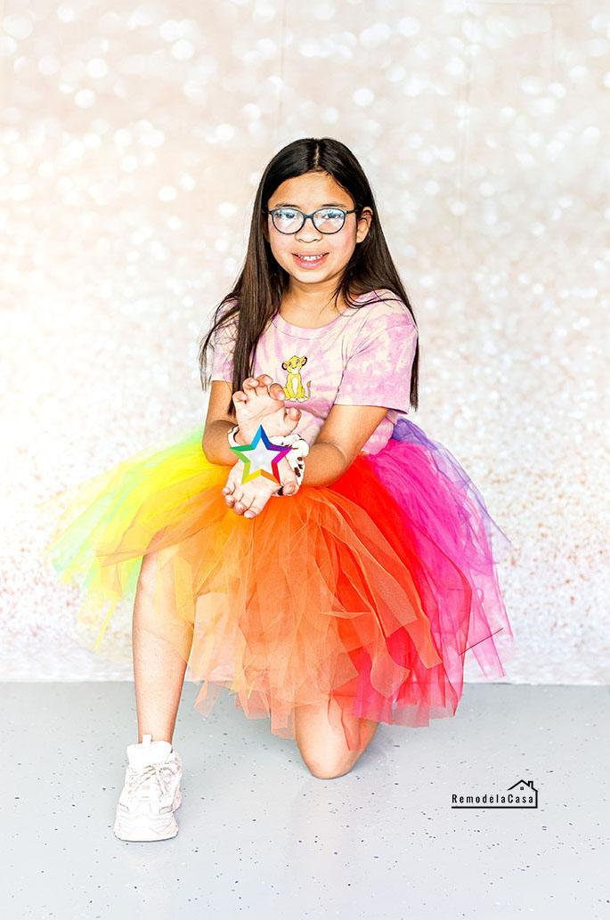 Isabella Pedrozo - Rainbow tutu
