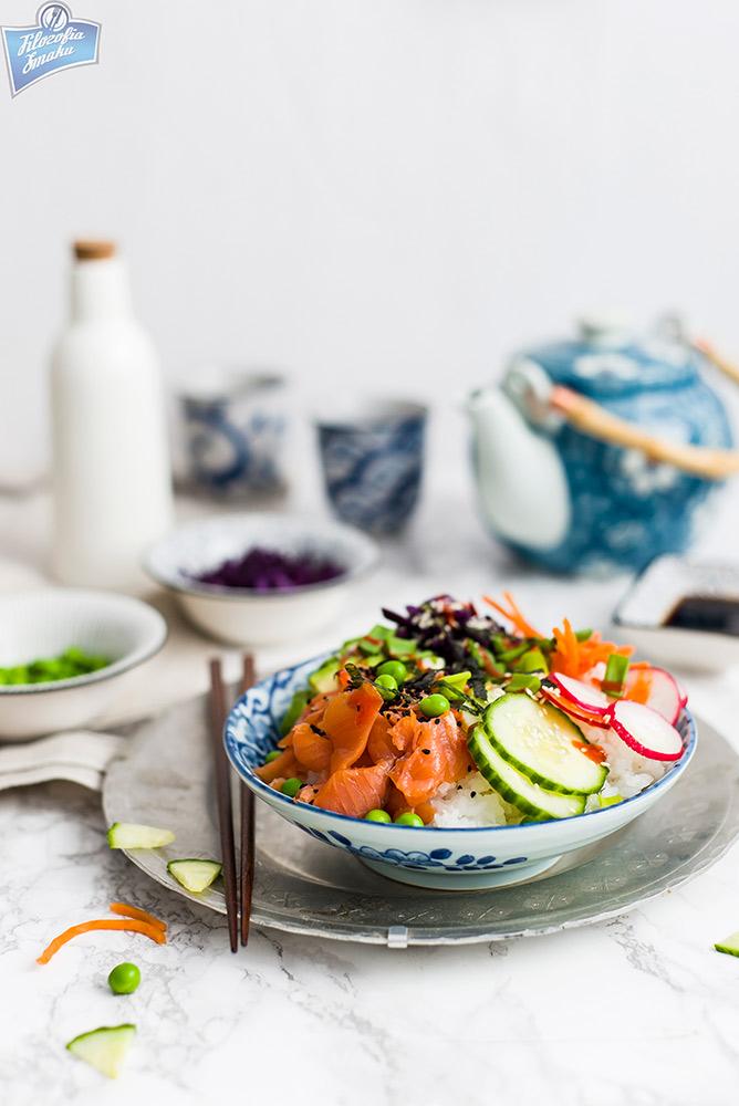 Sushi w misce