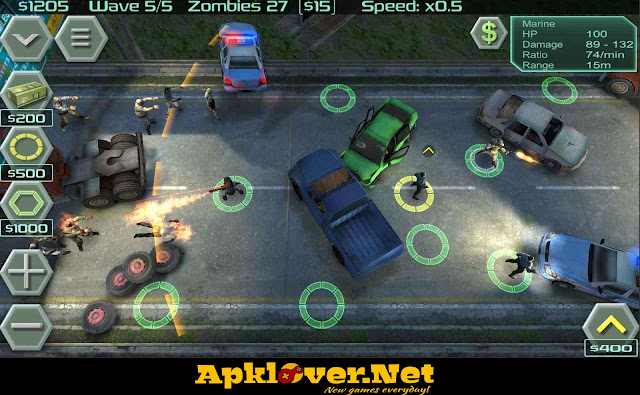 Zombie Defense MOD APK unlimited money