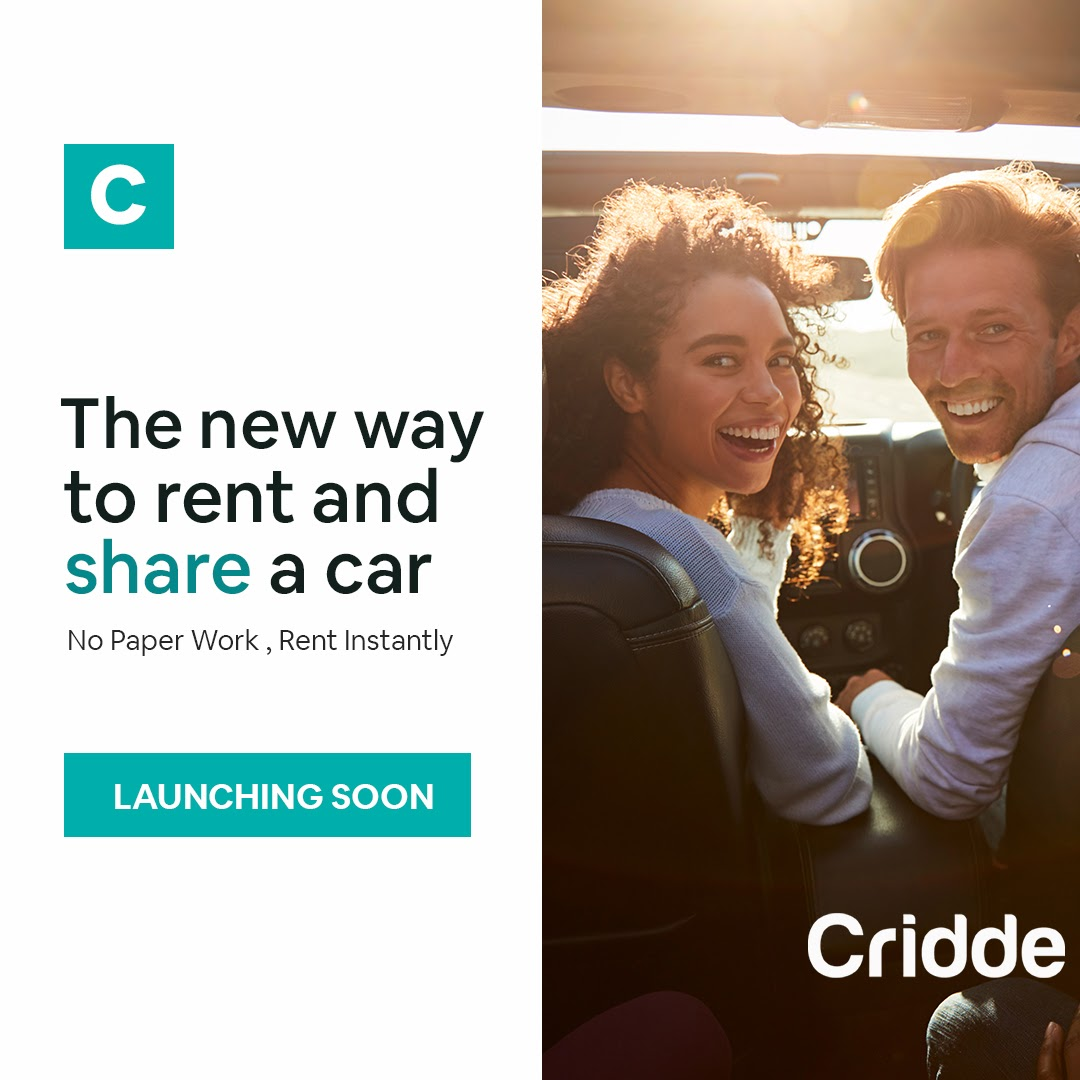 Cridde App Is Ready To Disrupt Car Rental Industries