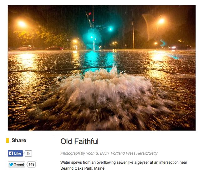 SoPo Cottage: When It Rains It Pours.......Right Into The