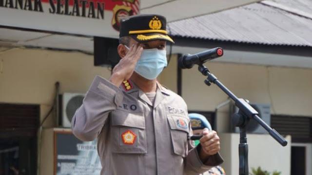 Kombes. Pol. Leo Joko Triwibowo Pimpin Sertijab Kapolsek Pontianak Selatan, Ini Pesannya?