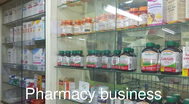 Medicine pharmacy shop