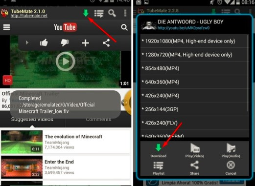 Cara Download Youtube di Android Dengan Aplikasi