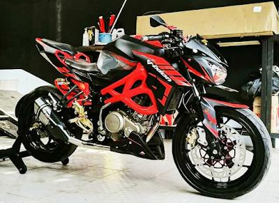 Pasang Bodi CBR 250 Di Yamaha Vixion