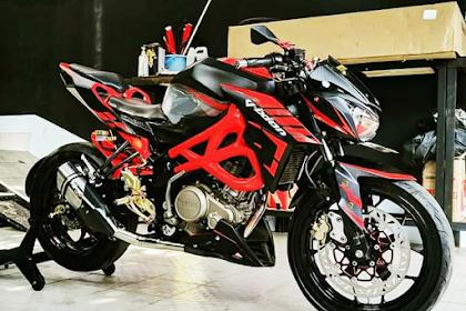 Pasang Bodi CBR 250 Pada Yamaha Vixion