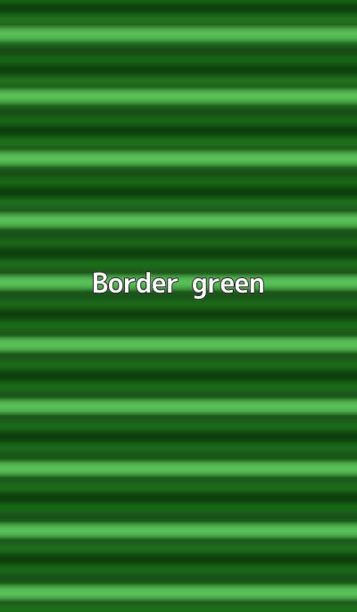 Border - green