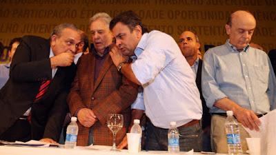 Só Gim Argello? Cadê o PSDB?: Se o Moro quiser, Lava Jato, chega no Aécio
