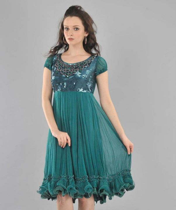 stylish partywear dresses 2012  party fashion trend for