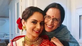Kangana Ranaut's mother is fearful after Explosive interview on Drugs Connection with Film Industry