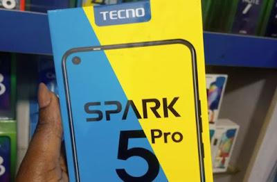 Tecno Spark 5 pro Price in Nigeria