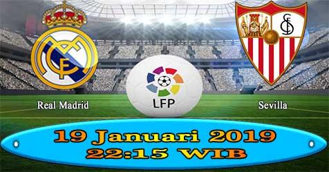 Prediksi Bola855 Real Madrid vs Sevilla 19 Januari 2019