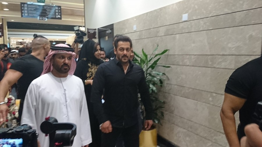 Salman Khan Inaugurates Belhasa Driving Centre In Dubai