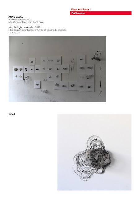 fiber art, art fil de métal
