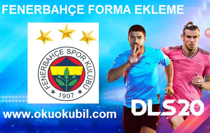 DLS 20 Fenerbahçe Dream league Soccer Ev Sahibi + Deplasman Forma Ekleme PNG