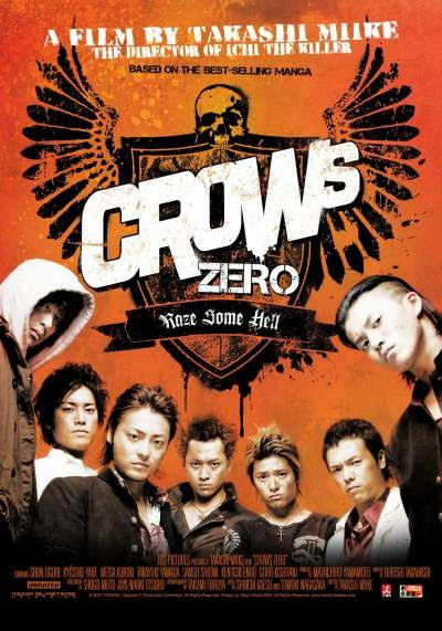 Download Crows Zero (2007) 548MB Subtitle Indonesia