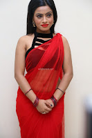 Aasma Syed in Red Saree Sleeveless Black Choli Spicy Pics ~  Exclusive Celebrities Galleries 052.jpg