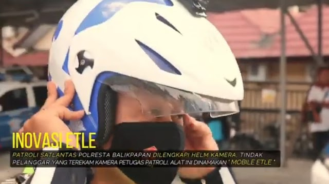 Penerapan Mobile ETLE Satlantas Polresta Balikpapan