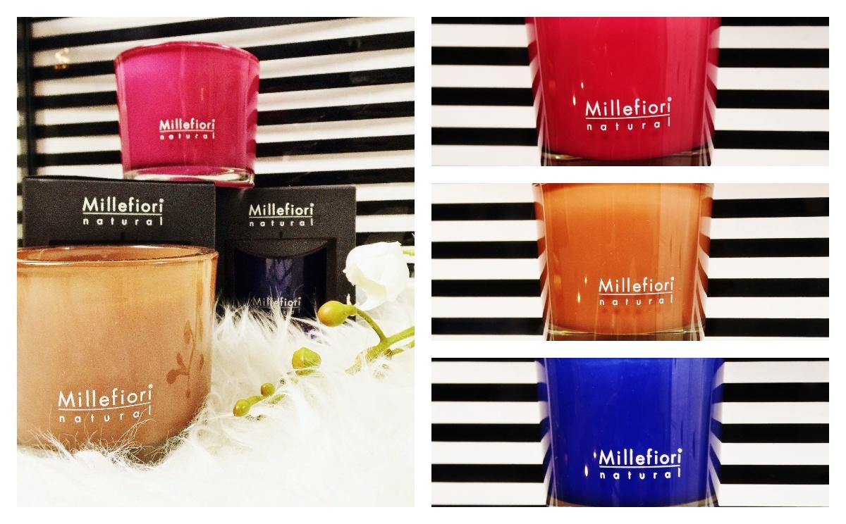 millefiori milano świece natural paski