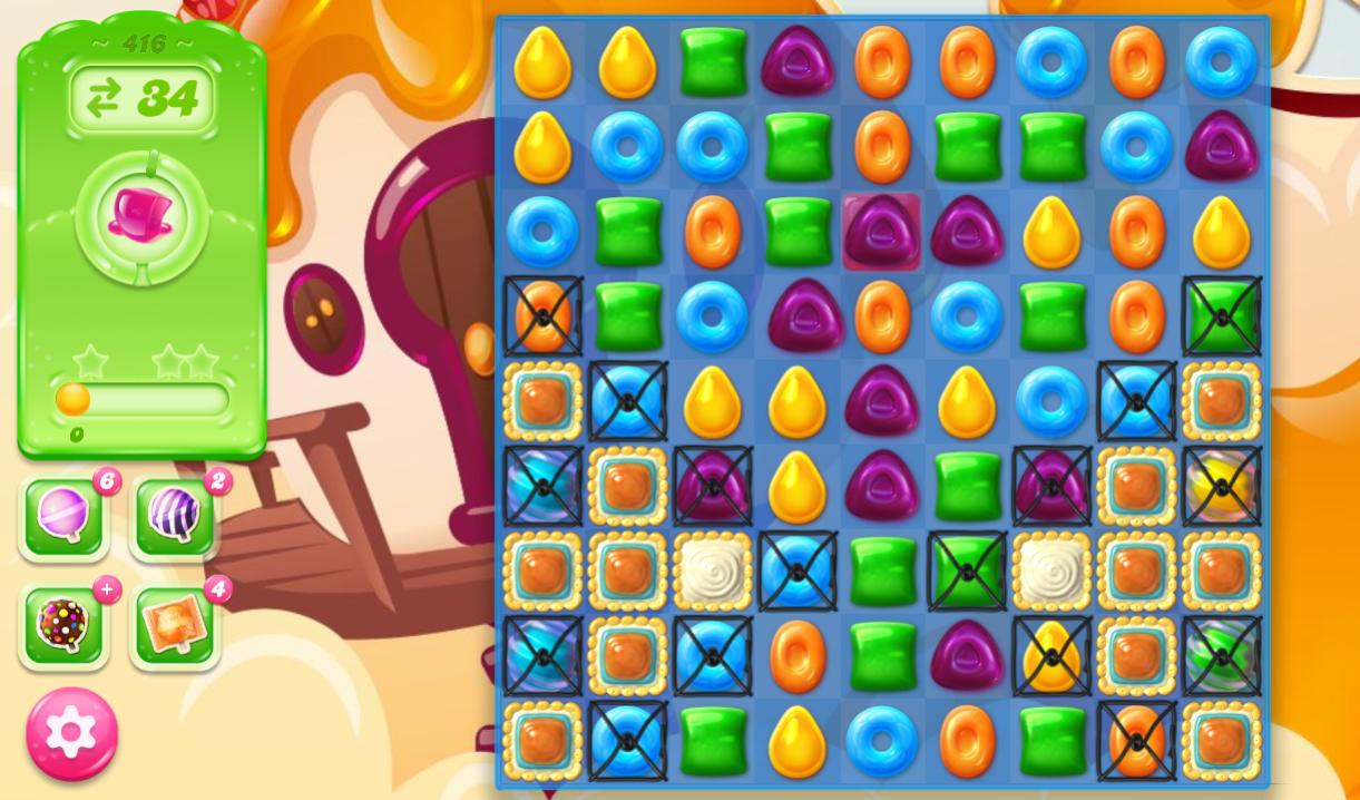 Candy Crush Jelly Saga 416