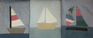 ProsperityStuff Blocks for Nautical Quilt: 3 Varieties of Sailboat!