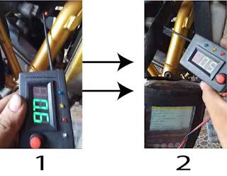 Wiring Sensor ECT Honda CB150R