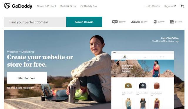 godaddy top-rated website builders
