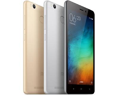 Xiaomi redmi 3s thiết kế hiện đại