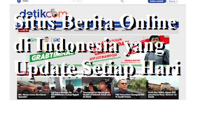 Situs Berita Online di Indonesia yang Update Setiap Hari